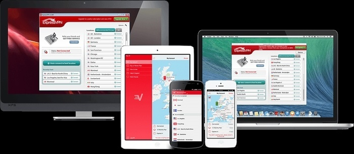 Express VPN Test Geräte